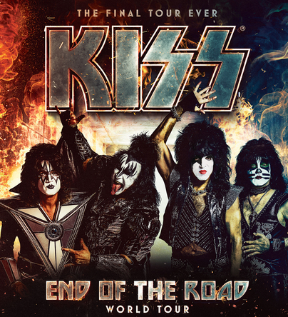 KISS最後の来日公演『END OF THE ROAD WORLD TOUR』決定!日本公式FCより先行チケットの受付&限定オリジナルグッズ販売スタート