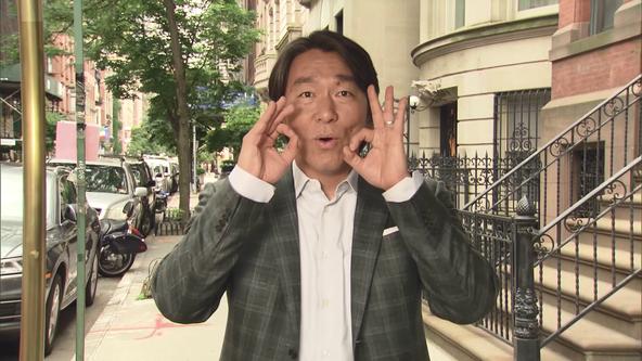 『おはスタ』放送5555回突破記念!元メジャーリーガー・松井秀喜さん&ゴジラが番組に襲来!?  (1)