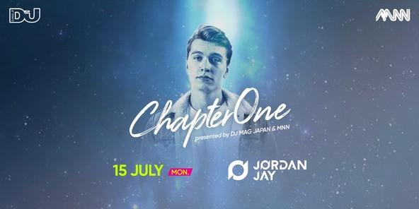 未成年も入場できるダンスミュージックイベント「Chapter One」、フューチャーハウス界の若手注目株・Jordan Jayが7月15日初来日! (1)