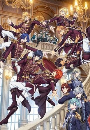『劇場版 うたの☆プリンスさまっ♪ マジLOVEキングダム』キービジュアル (C)UTA☆PRI-MOVIE PROJECT