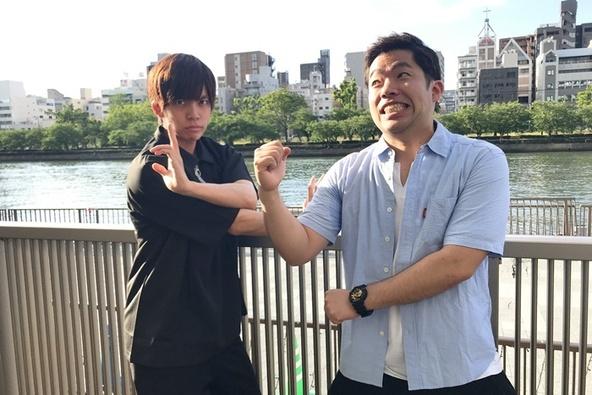 (左から)竹下健人(劇団Patch)、竹村晋太朗(劇団壱劇屋) (c)[撮影]吉永美和子