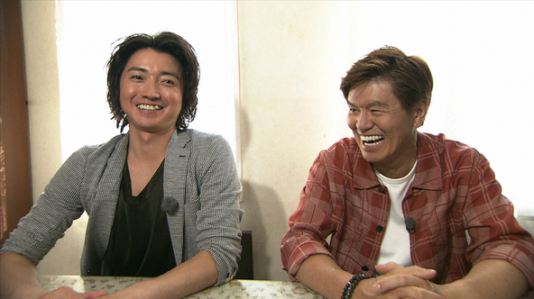 『火曜サプライズ』〈アポなし旅 in 立会川〉藤原竜也、ヒロミ(1) (c)NTV
