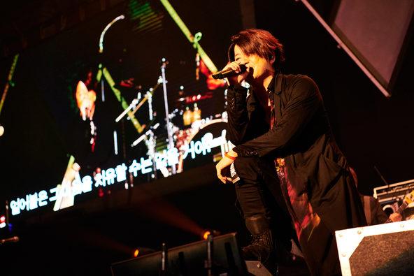 6月29日(土)「GLAY 25th Anniversary Special Live in Seoul」の模様(1) (c)田辺佳子