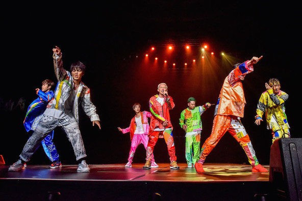 DA PUMPの大阪城ホール公演をレポートーー7人が七夕の夜に魅せた「あの景色」