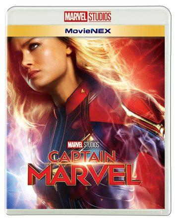 『キャプテン・マーベル Movie NEX』ジャケ写 (c)2019 MARVEL