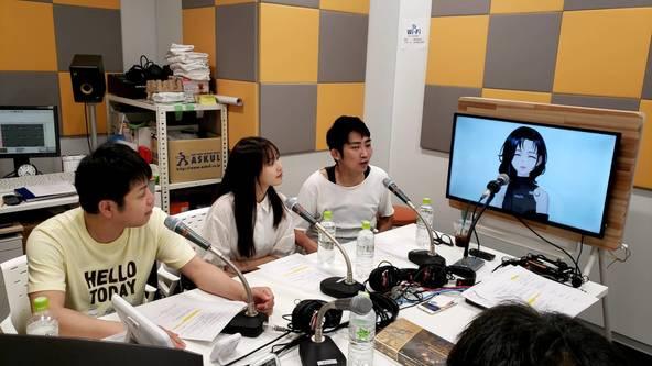キャラ設定に悩むバーチャルシンガーEMMA HAZY MINAMIにノンスタ石田明が名キャッチフレーズを命名!
