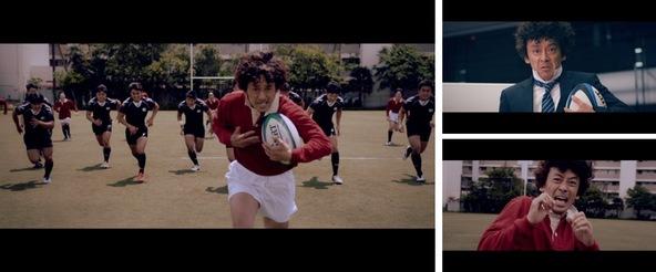 ラグビー応援WEBマガジン「楕円球LOVE!」よりショートムービー「Rの男」ラグビー好きの滝藤賢一さんが、ついにラグビー初挑戦!7月12日(金)より公開 (1)