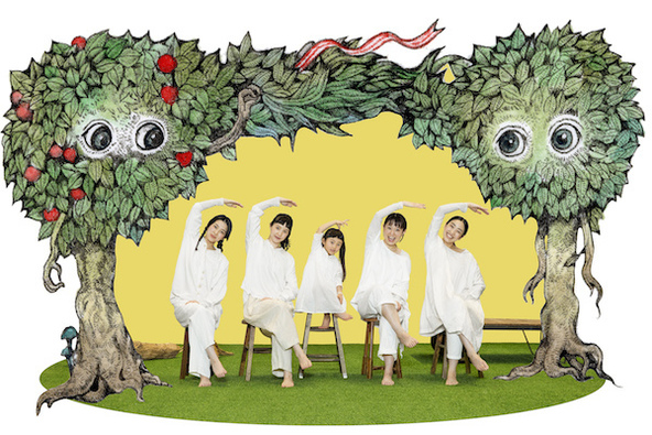 『めにみえない みみにしたい』宣伝美術 (c)宣伝美術/名久井直子、宣伝イラスト/ヒグチユウコ、宣伝写真/井上佐由紀