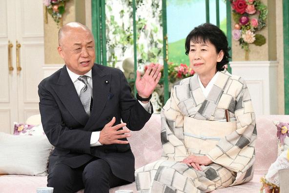 『徹子の部屋』〈ゲスト〉田山涼成・淑恵 夫妻 (c)テレビ朝日