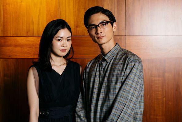 左から、西川可奈子、高良健吾 (c)撮影=早川里美