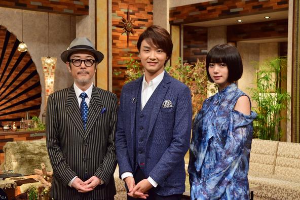 『The Covers』〈MC〉リリー・フランキー、池田エライザ  〈ゲスト〉井上芳雄 (c)NHK