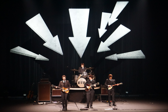 ビートルズの歴史を体感できる再現コンサート「LET IT BE ~レット・イット・ビー~」 (1)