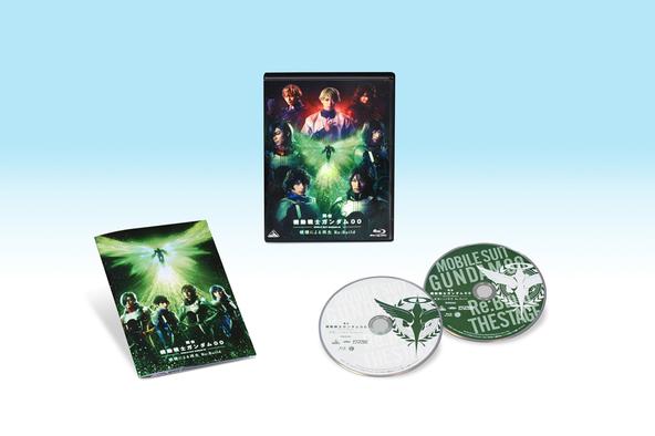 舞台『機動戦士ガンダム00 -破壊による再生-Re:Build』Blu-ray(特装限定版) (C)創通・サンライズ