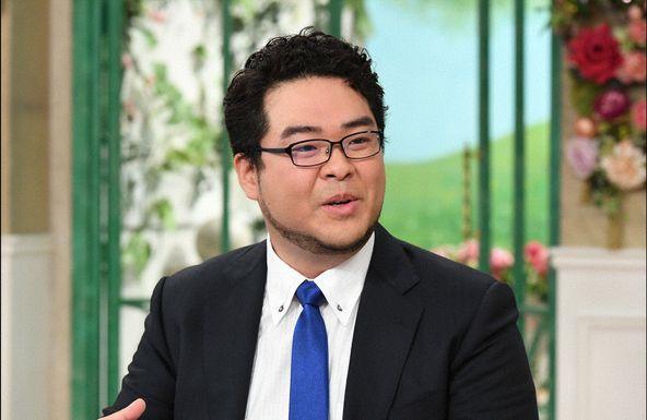 「徹子の部屋」落合福嗣  (c)テレビ朝日