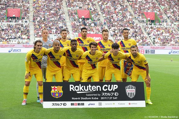 盟友イニエスタ、ビジャ、サンペール擁するヴィッセル神戸を下したバルセロナ。いよいよスペインサッカー ラ・リーガ 2019-20シーズンが、8/16(金)に開幕する!WOWOWで毎節最大5試合生中継! (1)