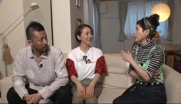 『メレンゲの気持ち』〈突撃!芸能人のお宅で昼ごはん〉久本雅美、熊谷真実&中澤希水夫婦(1) (c)NTV