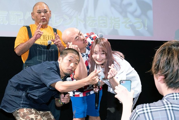 【クロちゃん、SNSでもモンスターデビュー!?】 「松竹芸能 配信タレントデビューコース」開講記念記者発表 レポート