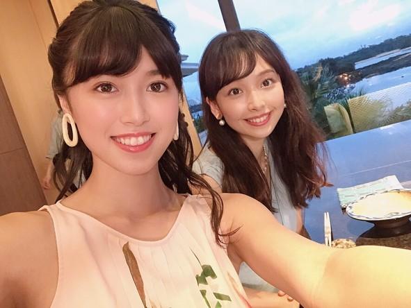 『タビフク+VR』華村あすか&北向珠夕が夏の沖縄2人タビ(1) (c)TBS