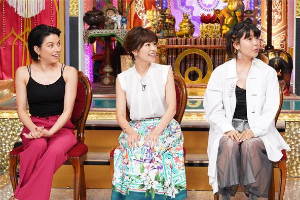 『今夜くらべてみました』〈トリオ THE ワールドワイドな女〉ジェシカ、中野美奈子、石橋穂乃香 (c)NTV