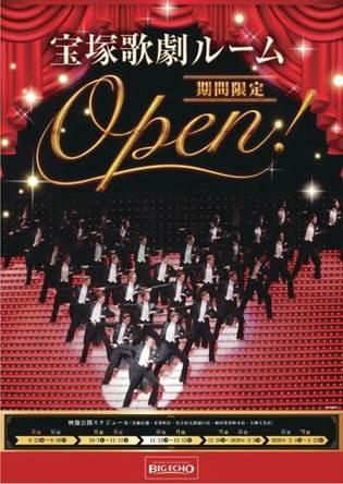 宝塚歌劇105周年記念!ビッグエコー4店舗で宝塚歌劇ルームを8月23日より実施 (1)