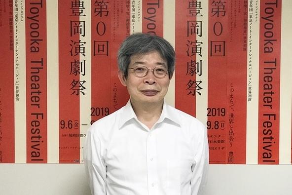 「第0回豊岡演劇祭」フェスティバルディレクター・平田オリザ(青年団)。 (c)[撮影]吉永美和子