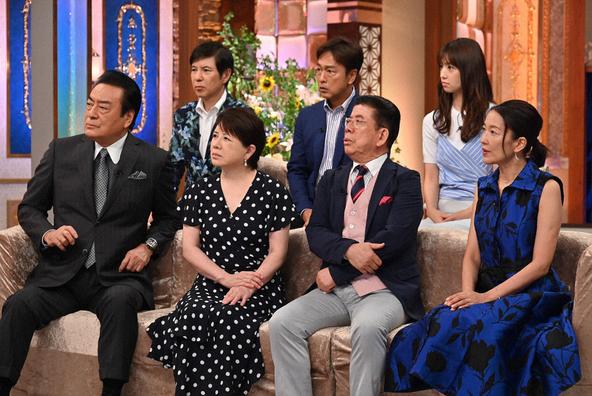 『決定版!日本の名曲100選』出演者の皆さん (c)テレビ朝日