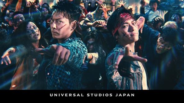 "EXILE NAOTO&山下健二郎(三代目 J SOUL BROTHERS)とユニバーサル・スタジオ・ジャパンの最強コラボで""世界最高クオリティ""のハロウィーン誕生! (1)  (C) 2019 Universal Studios. All Rights Reserved."
