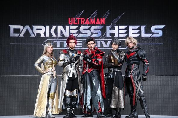 舞台『DARKNESS HEELS~THE LIVE~』メインキャストが舞台衣装を着用して集結! (1)