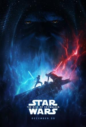 『スター・ウォーズ/スカイウォーカーの夜明け』USポスタービジュアルを公開 レイ、カイロ・レン、パルパティーン皇帝が登場 (C)2019 Lucasfilm Ltd. All Rights Reserved.