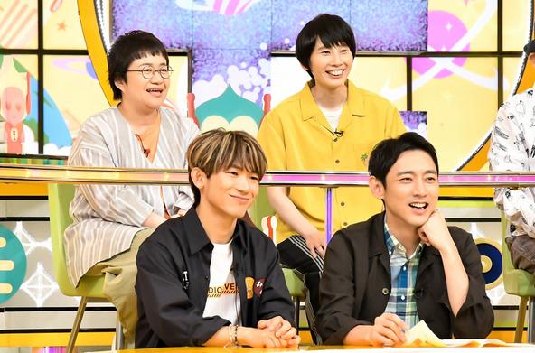 『モニタリング』NAOTO(EXILE/三代目J Soul Brothers)、小泉孝太郎、ハリセンボン[近藤春菜・箕輪はるか] (c)TBS