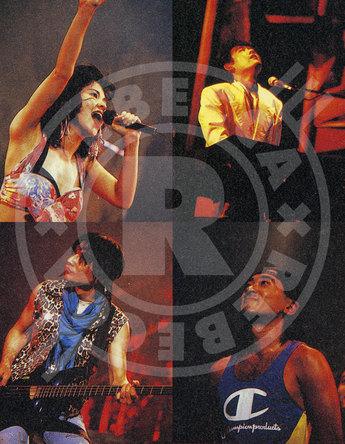 """REBECCA の1989年7月17日、東京ドームで開催された「BLOND SAURUS TOUR '89」30年の時を経て全18曲の""""完全版""""が10月23日にBlu-ray、DVDで発売決定! (1)"""