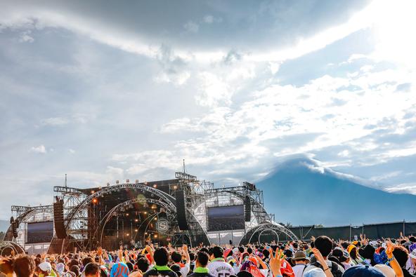 スペースシャワーネットワークが主催する野外ライブフェスティバル『SWEET LOVE SHOWER 2019』80,000人が世界遺産・富士山のふもとで大熱狂! (1)  photo by 関口佳代