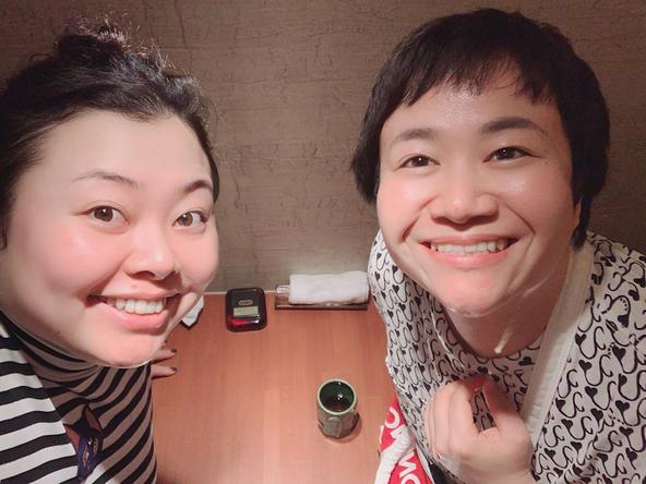 渡辺直美が公開した、近藤春菜(ハリセンボン)との2ショット