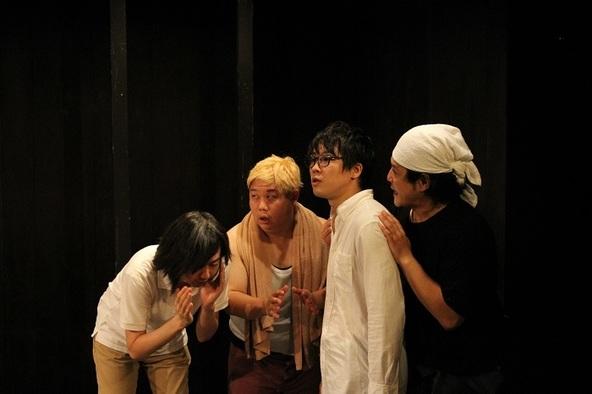 善雄善雄が主宰するザ・プレイボーイズ復活公演『間男の間』が開幕 異空間に集められた男たちを描くコメディ会話劇 (c)撮影:村田麻由美