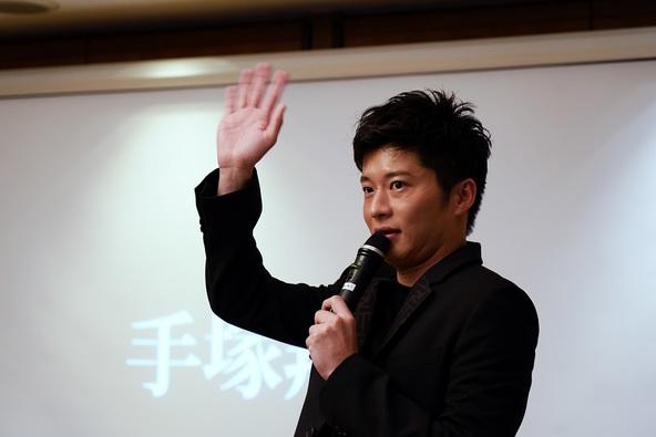 いよいよ本日放送となる最終回を直前に、「あなたの番です」主題歌「会いたいよ」CD購入者を対象に、手塚翔太を演じる田中圭がイベント登壇 (1)