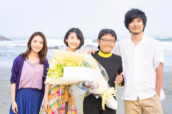 池間夏海が公開した『日向の佐和ちゃん、波に乗る』撮影オフショット(1)