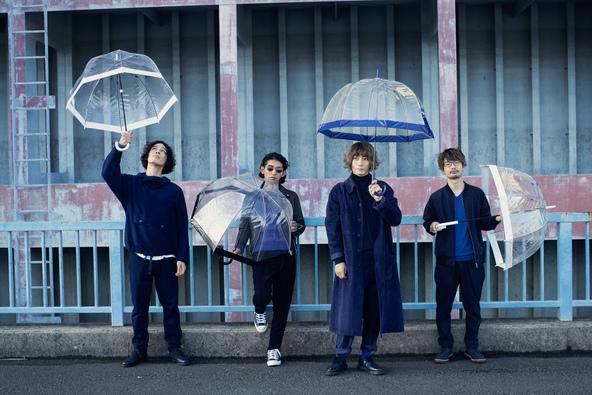 アンテナがバンド表記を「ANTENA」に改名。デジタルシングル「入道雲」の配信&名阪仙をまわるツアー「Forsta resan」を発表!