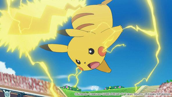 サトシはポケモンリーグ初優勝なるか!?松本梨香さんのコメント到着! (C)Nintendo・Creatures・GAME FREAK・TV Tokyo・ShoPro・JR Kikaku (C)Pokemon