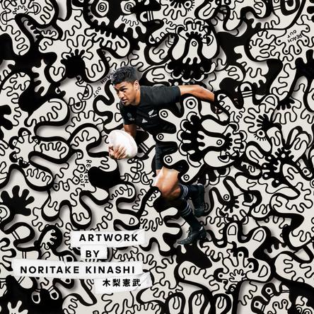 木梨憲武など日本を代表するクリエイターによるオールブラックスをテーマにしたアートプロジェクト 「予想外が世界をうめつくす #CreatorsUnite始動 (1)