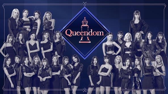 K-POP 界を代表するガールズグループ 6 組が同時に新曲を発表する、カムバック合戦!「Queendom」11 月 13 日 日本初放送決定! (1)   (C) CJ ENM Co., Ltd, All Rights Reserved