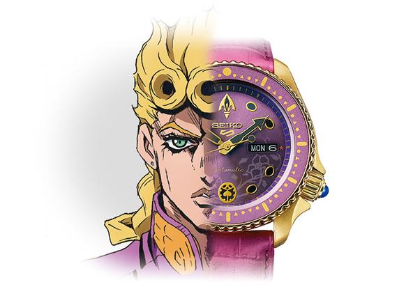 <セイコー 5スポーツ>から、TVアニメ「ジョジョの奇妙な冒険 黄金の風」とのコラボレーション限定モデルを発売!! (1)  (C)LUCKY LAND COMMUNICATIONS/集英社・ジョジョの奇妙な冒険GW製作委員会
