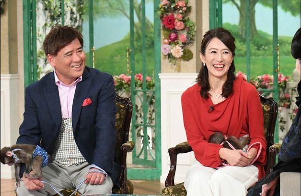 「徹子の部屋」村崎太郎、妻 朋子  (c)テレビ朝日