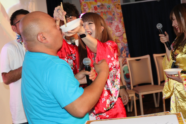 安田大サーカスのクロちゃんが大暴れ!?「PAスーパー海物語IN JAPAN2 with太鼓の達人」ファンイベント(大阪)レポート!
