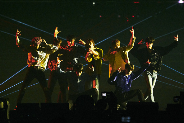 NCT127 ライブの模様(1) (c)写真:Shinichi Kawashima