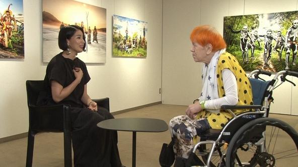 『SWITCHインタビュー 達人達(たち)』ヨシダナギ×志茂田景樹(1) (c)NHK
