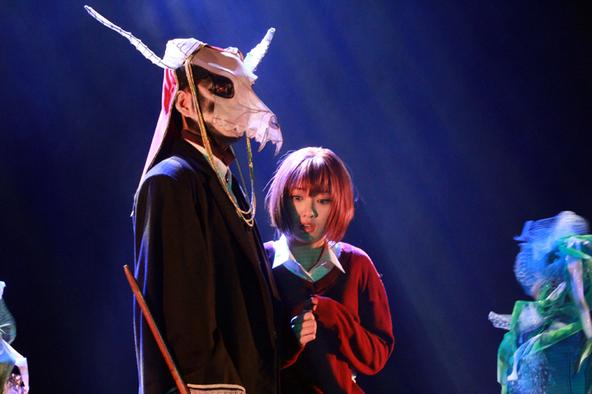 工藤遙主演、舞台『魔法使いの嫁』が開幕 エリアスの頭部は透ける素材を使った仮面で表現