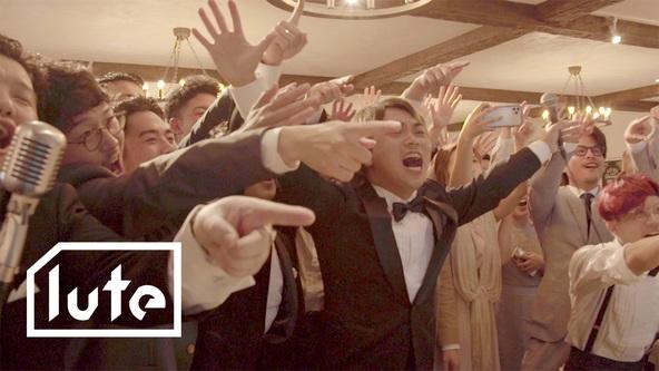 ジャバ、新曲「きみは最高」をメンバーのリアルな友人の結婚式で披露したライブムービーをluteのYouTubeチャンネルより公開。 (1)