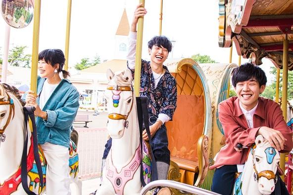 Saucy Dog アルバム収録曲「月に住む君」MV公開、今夜放送『COUNTDOWN TV』で披露