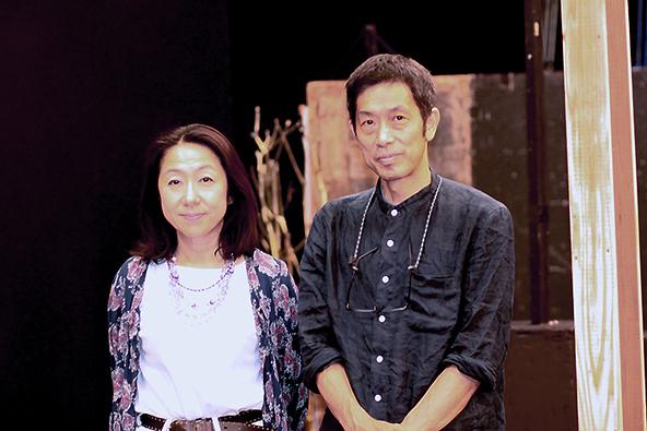 松本祐子(左)と杉山至