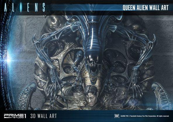 『エイリアン』クイーンエイリアンが全世界350個限定生産の3Dウォールアートに 宿主の人間やエイリアンエッグもデザイン Aliens TM &(C)Twentieth Century Fox Film Corporation. All Rights Reserved.